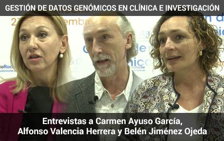Entrevistas a Carmen Ayuso García, Alfonso Valencia Herrera y Belén Jiménez Ojeda