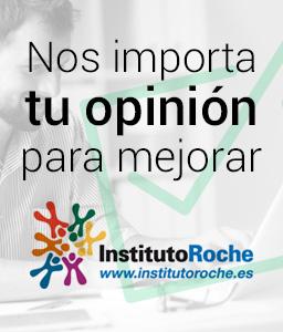 Nos importa tu opinión para mejorar