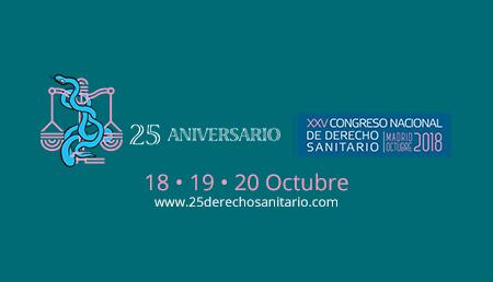 XXV Congreso Nacional de Derecho Sanitario