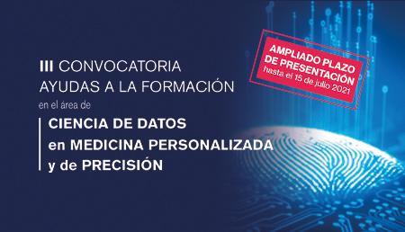 Ampliado el plazo de la tercera convocatoria de becas para la formación en el área de Ciencia de Datos en Medicina Personalizada y de Precisión, de la Fundación Instituto Roche
