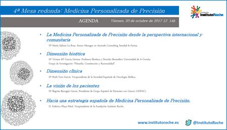 4ª Mesa redonda: Medicina Personalizada de Precisión