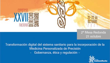 XXVII Congreso nacional de derecho sanitario
