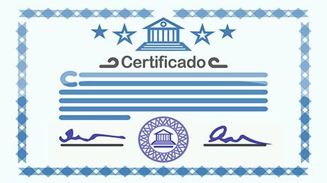Certificados de asistencia