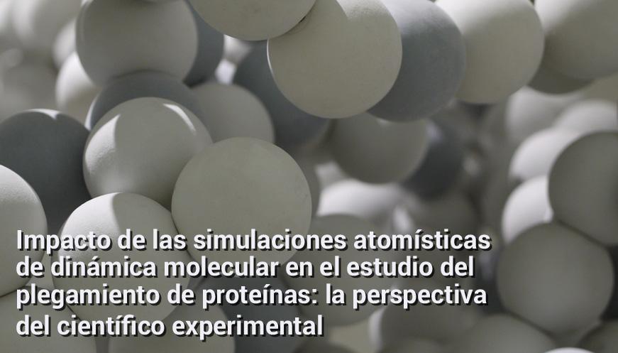 Impacto de las simulaciones atomísticas de dinámica molecular en el estudio del plegamiento de proteínas: la perspectiva del científico experimental