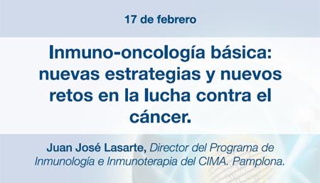 Inmuno-oncología básica: nuevas estrategias y nuevos retos en la lucha contra el cáncer.
