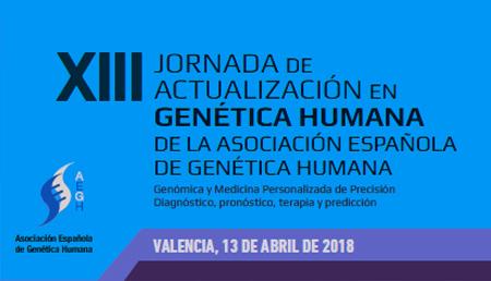 XIII Jornada de Actualización en Genética Humana de la AEGH