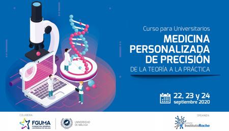 Se abre el plazo de inscripción del curso para universitarios 'Medicina Personalizada de Precisión, de la teoría a la práctica' dirigido a alumnos de la Universidad de Málaga