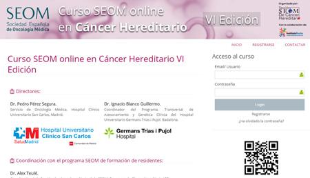 Cáncer hereditario. V Edición curso online.
