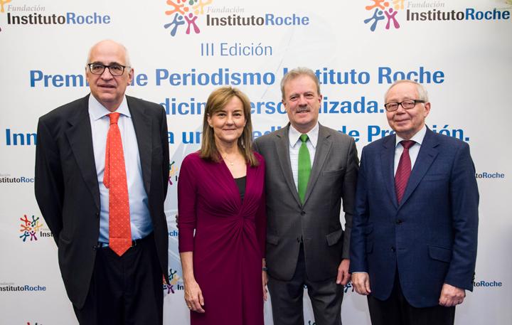 Federico Plaza, Consuelo Martín de Dios, Manuel Campo Vidal, Julio Sánchez Fierro