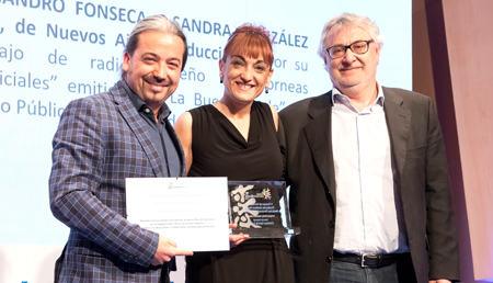 Alejandro Fonseca y Sandra Gonzalez Pini - Mención especial Medios Audiovisuales