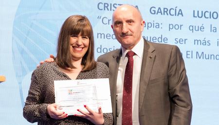 Cristina Garcia Lucio - Mención especial Medios impresos y digitales