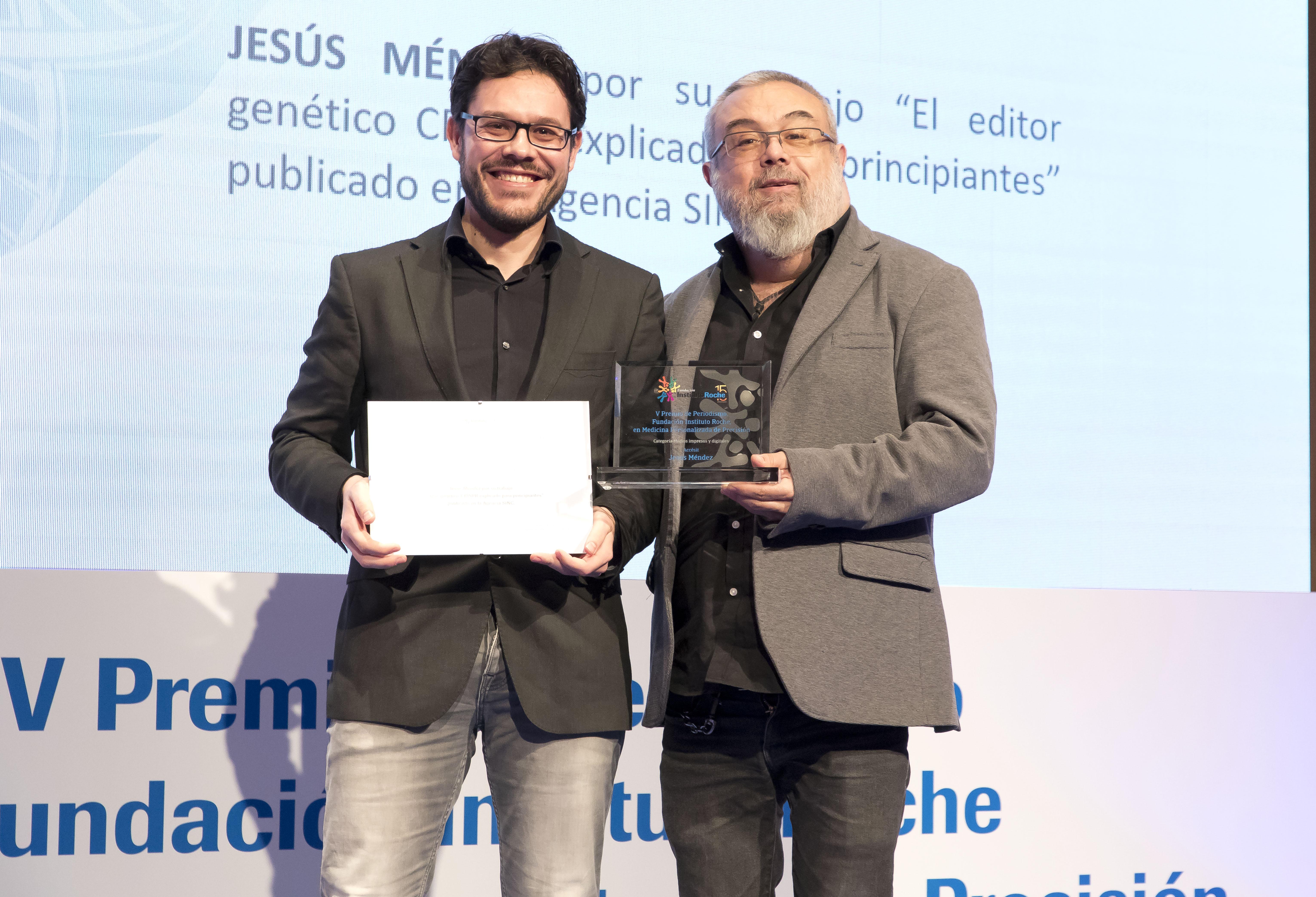 Jesus Mendez - Accésit Medios impresos y digitales
