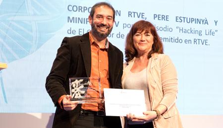 Pere Estupinya - Accésit Medios Audiovisuales