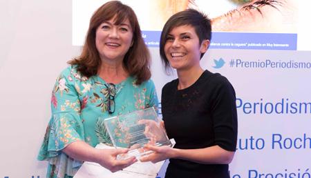 Coral Larrosa y Esther Paniagua - Primer premio Medios impresos y digitales
