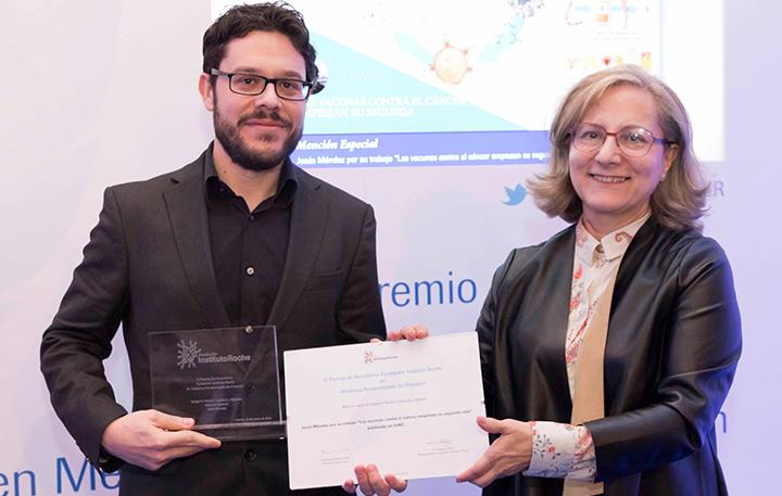 Equipo Zoom-ConCiencia Telemadrid, Mención especial Medios Audiovisuales y Alipio Gutiérrez (Miembro del Jurado)