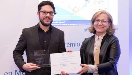Elsa González y Jesús Méndez - Mención en Medios impresos y digitales