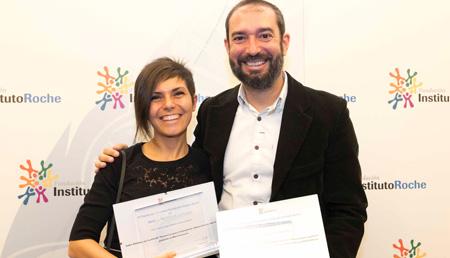 Esther Paniagua Primer premio Medios impresos y digitales - Pere Estupinyá Primer premio Medios audiovisuales