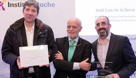 José Luis de la Serna y Equipo ConCiencia-Mención en Medios Audiovisuales