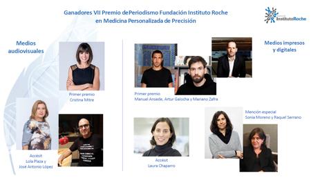 Instituto Roche ha celebrado el acto de entrega de su 'VII Premio de Periodismo en MPP