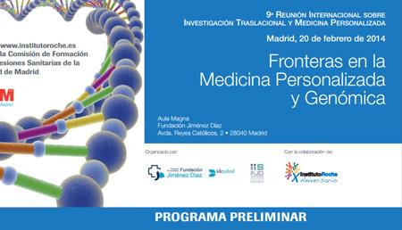 9ª Reunión internacional sobre investigación traslacional y medicina personalizada