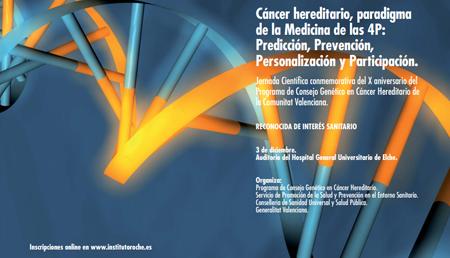 Cáncer hereditario, paradigma de la Medicina de las 4P: Predicción, Prevención, Personalización, Participación.