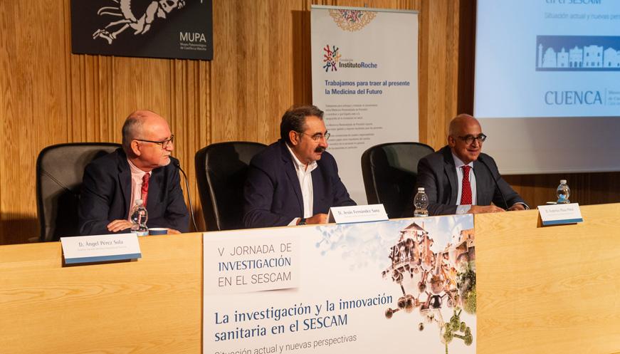 La Fundación Instituto Roche y el SESCAM ponen en valor la investigación e innovación de la Comunidad