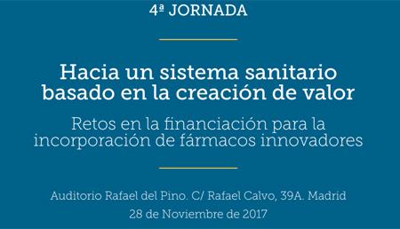 28 de noviembre: jornada de debate sobre la financiación de fármacos innovadores