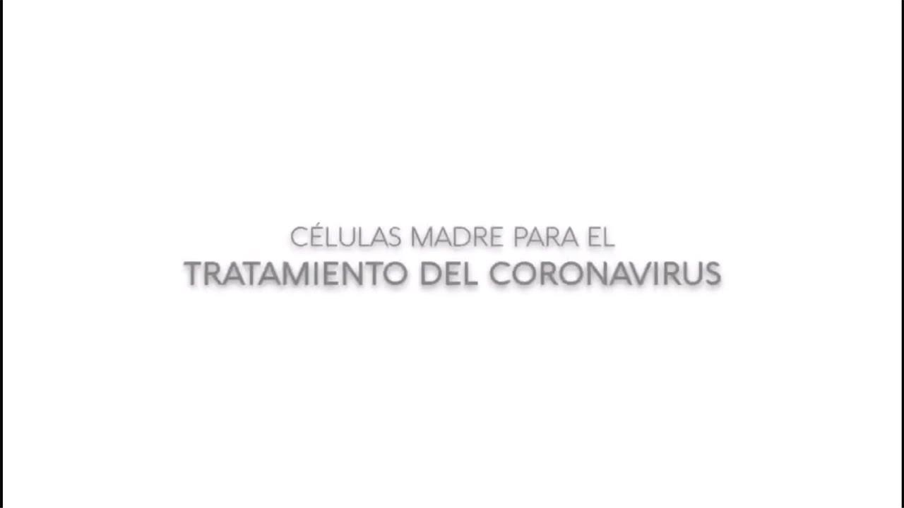 Células madre para el tratamiento del coronavirus