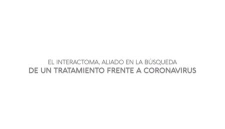 El interactoma, aliado en la búsqueda de un tratamiento frente a coronavirus