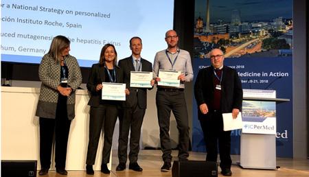 La Fundación Instituto Roche premiada en Berlín por su Propuesta de Recomendaciones