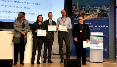 La Fundación Instituto Roche premiada en Berlín por su Propuesta de Recomendaciones para una Estrategia Estatal de Medicina Personalizada de Precisión