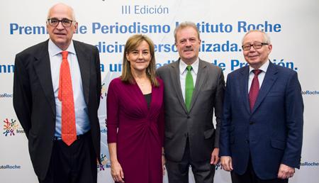 La Fundación Instituto Roche premia el compromiso con la difusión de la Medicina Personalizada