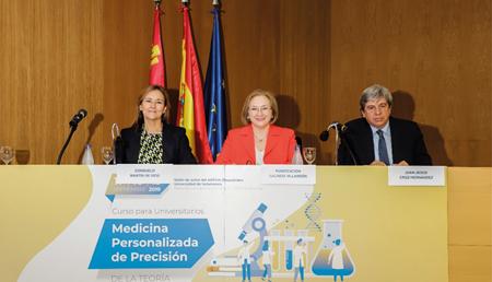 Inauguración del curso para universitarios dirigido a alumnos de la Universidad de Salamanca
