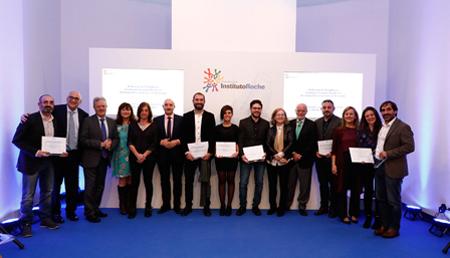 Entrega de los Premios de Periodismo en Medicina Personalizada de la Fundación Instituto Roche