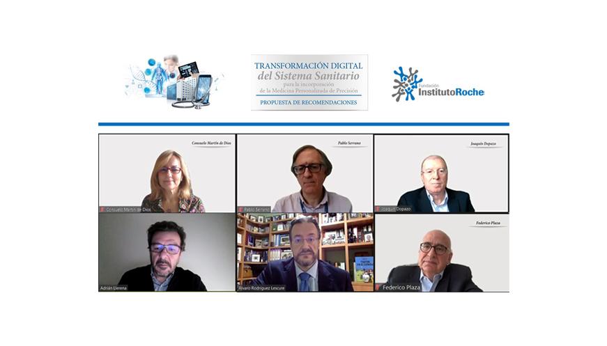 Los expertos proponen una trasformación digital del sistema sanitario basada en la tecnología, la formación de los profesionales y un cambio cultural y organizativo